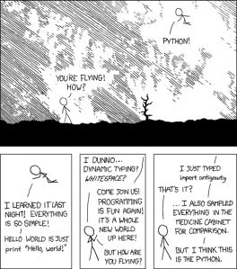 Illustration: the famous XKCD
