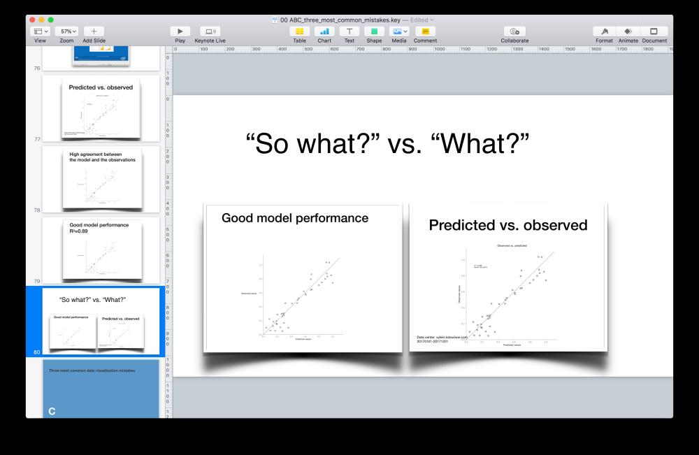 Screenshot. Slide deck. The slide says