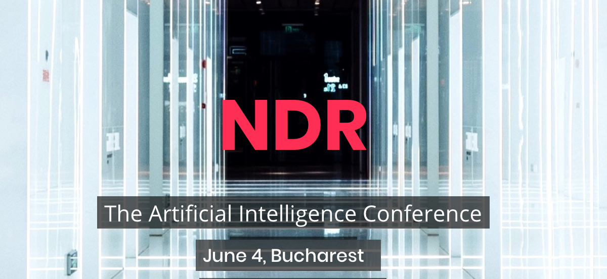 I will speak at the NDR conference in Bucharest
