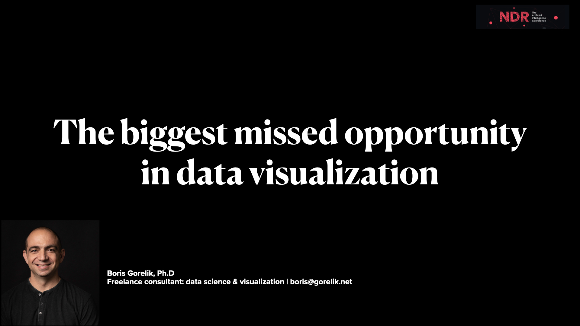 How to suck less in data visualization and professional communication